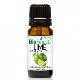 Lime Essential Oil - 100% Pure Therapeutic Grade - Best For Aromatherapy - Protection Against Colds, Flu, Sore Throat.
