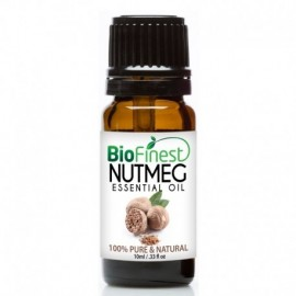 Nutmeg Essential Oil - 100% Pure Therapeutic Grade - Best For Aromatherapy -  Relieve Muscle Pain, Swelling, Inflammation