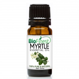 Myrtle Essential Oil - 100% Pure Undiluted - Therapeutic Grade - Best For Aromatherapy -  Soothe Cough, Asthma, Bronchitis