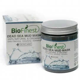 Dead Sea Mud Mask - with Shea Butter, Aloe Vera, Collagen - Best Facial Pore Minimizer, Wrinkles Reducer, Pores Cleanser