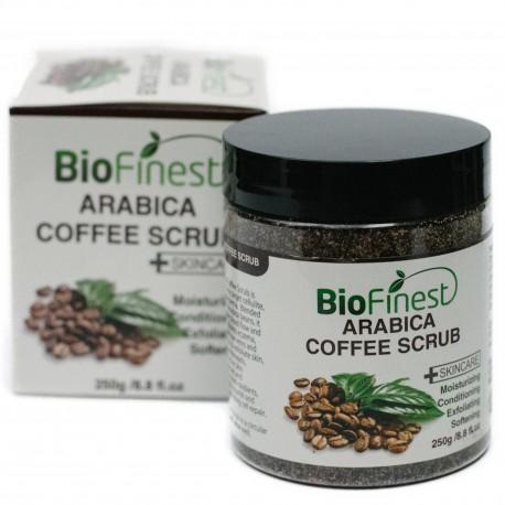 Arabica Coffee Scrub: Best For Varicose Veins, Cellulite, Stretch Marks, Eczema & Acne - Moisturizer and Exfoliator