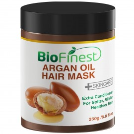 Argan Oil Hair Mask - with 100% Organic Jojoba Oil, Aloe Vera, Keratin - Deep Conditioner for Dry/ Damaged/ Color Treated Hair