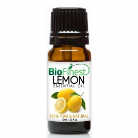 Lemon Essential Oil - 100% Pure Undiluted - Therapeutic Grade - Best For Aromatherapy & Cleanser, Air Freshener & Purifier