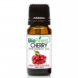 Cherry Fragrance Oil - 100% Fresh & Natural - Premium Grade - Natural Home Scent - Tropical Fruit - Aromatherapy - Relaxing