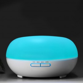 C1 (200ml) Ultrasonic Aroma Diffuser/ Air Humidifier/ Purifier/ 7-Color LED Light, 4-Timer, 6 Hours Mist, Auto Off, Super Quiet
