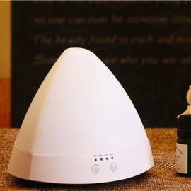 J1 (80ml) Ultrasonic Aroma Diffuser/ Air Humidifier/ Purifier/ 7-Color LED Light, 4-Timer, 3 Hours Mist, Auto Off, Super Quiet