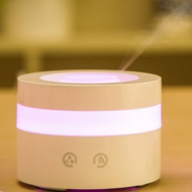 U2 (100ml) USB Touch Key Ultrasonic Aroma Diffuser/ Air Humidifier/USB/ 7-Color LED, 4-Timer, 8 Hours Mist, Auto Off, Quiet