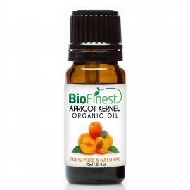 Apricot Kernel Organic Oil - 100% Pure Cold-Pressed -  Premium Quality - Rich in Omega-6/ Vitamin A & E  - Moisturize Skin/Hair