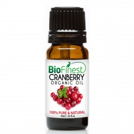 Cranberry Organic Oil - 100% Pure Cold-Pressed -  Premium Quality - Anti- Aging/ Antioxidant- Best Skin Moisturizer
