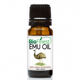 Emu Organic Oil - 100% Pure Cold-Pressed - Antibacterial/Anti-inflammation  - Best Moisturizer For Skin/Hair/Nail