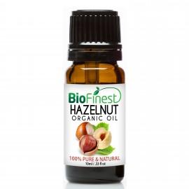 Hazelnut Organic Oil - 100% Pure Cold-Pressed -  Premium Quality - Rich in Vitamin A/ C/ E - Moisturize Skin/Hair