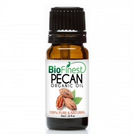 Pecan Organic Oil - 100% Pure Cold-Pressed -  Premium Quality - Antibacterial & Anti-inflammation  - Best For Skin/Hair