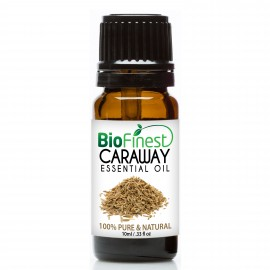 Caraway Essential Oil - 100% Pure Therapeutic Grade - Best For Aromatherapy -  Soothe Muscle Ache, Boost Blood Circulation