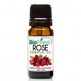 Rose Essential Oil - 100% Pure Undiluted - Therapeutic Grade - Best For Aromatherapy - Relief From Anxiety and Depression