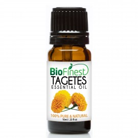 Tagetes Essential Oil - 100% Pure Therapeutic Grade - Best For Aromatherapy & Calming - Rich in Antioxidant & Antimicrobial