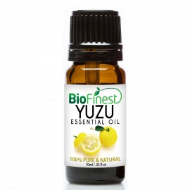 Yuzu Essential Oil - 100% Pure Therapeutic - For Aromatherapy - Boost Immune System