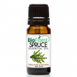 Spruce Essential Oil - 100% Pure Undiluted - Therapeutic Grade - Best For Aromatherapy - Promote Better Sleep at Night