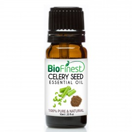 Celery Seed Essential Oil - 100% Pure Undiluted - Therapeutic Grade - Best For Aromatherapy & Massage, Lower Blood Pressure