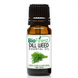 Dill Weed Essential Oil - 100% Pure Undiluted - Therapeutic Grade - Best For Aromatherapy - Calming, Relaxing and Balancing