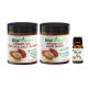 ★Argan Body Scrub & Hair Repair Gift Set★ Argan Oil Dead Sea Salt Scrub, Argan Oil Hair Mask, Argan Oil 10ml