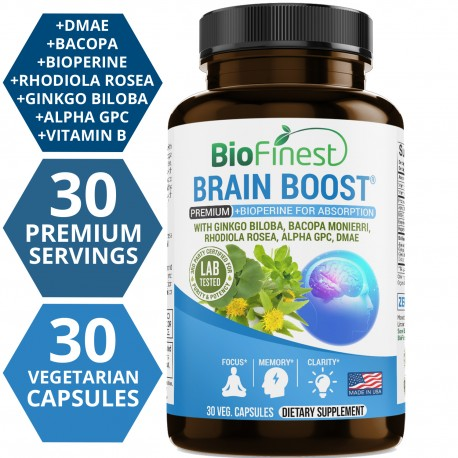 Brain Booster Supplement Nootropic Pills For Optimal Performance