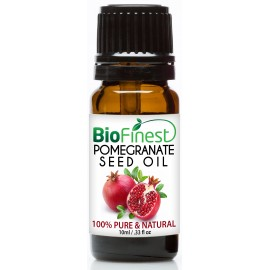 Pomegranate Seed Organic Oil - 100% Pure Cold-Pressed -  Premium Quality - Rich in Antioxidant/Vitamin C/K/B6 - Fight Cancer