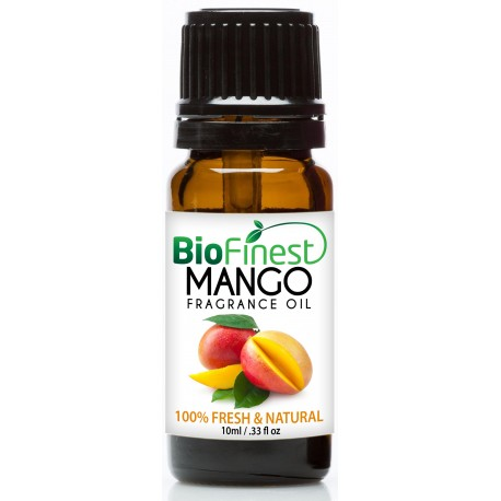 Mango Fragrance Oil - 100% Fresh & Natural - Premium Grade - Natural Home Scent - Tropical Fruit - Aromatherapy - Relaxing