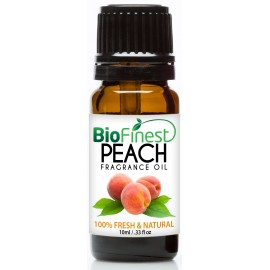 Peach Fragrance Oil - 100% Fresh & Natural - Premium Grade - Natural Home Scent - Tropical Fruit - Aromatherapy - Relaxing