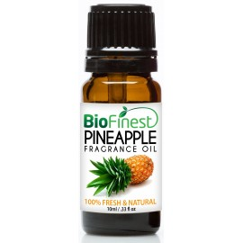 Pineapple Fragrance Oil - 100% Fresh & Natural - Premium Grade - Natural Home Scent - Tropical Fruit - Aromatherapy - Relaxing