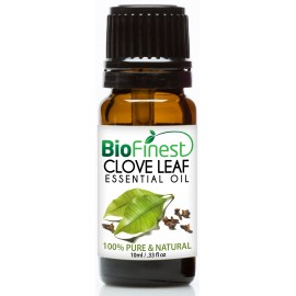 Clove Essential Oil - 100% Pure Undiluted - Therapeutic Grade - Best For Aromatherapy - Anti-Bacteria - Natural Skin Care