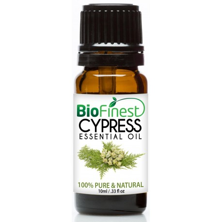 Cypress Essential Oil - 100% Pure Undiluted - Therapeutic Grade - Best For Aromatherapy - Energizing - Detox Body & Mind