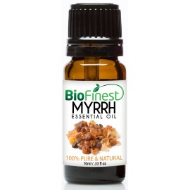 Myrrh Essential Oil - 100% Pure Undiluted - Therapeutic Grade - Aromatherapy - Antiseptic - Boost Immune System - Heal Wound