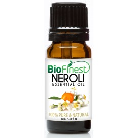 Neroli Essential Oil - 100% Pure Undiluted - Therapeutic Grade - Aromatherapy - Antioxidant - Repair Skin - Reduce Stress
