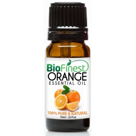 Orange Essential Oil - 100% Pure Undiluted - Therapeutic Grade - Best For Aromatherapy -  Boost Immune System - Mood Lifting