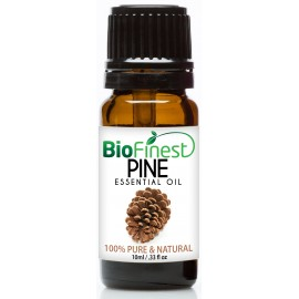 Pine Essential Oil - 100% Pure Undiluted - Therapeutic Grade - Best For Aromatherapy -   Improve mood - Heighten Awareness
