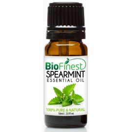 Spearmint Essential Oil - 100% Pure Undiluted - Therapeutic Grade - Best For Aromatherapy - Boost Digestion - Muscle Soothing