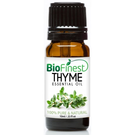 Thyme Essential Oil - 100% Pure Undiluted - Therapeutic Grade - Aromatherapy - Boost Memory - Kill Bacteria - Balance Hormone