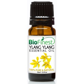 Ylang Ylang Essential Oil - 100% Pure Undiluted - Therapeutic Grade - Aromatherapy - Boost Energy/Heart - Reduce Stress/Anxiety