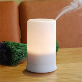 A2 (100ml) MUJI Ultrasonic Aroma Diffuser/ Air Humidifier/ Purifier/ 7-Color LED, 4-Timer, 3 Hours Mist, Auto Off, Super Quiet