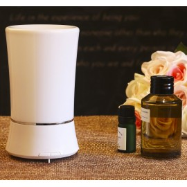 B1 (150ml) Ultrasonic Aroma Diffuser/ Air Humidifier/ Purifier/ 6-Color LED Light, 3 Hours Mist, Auto Off, Super Quiet