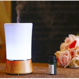 B2 (150ml) Ultrasonic Aroma Diffuser/ Air Humidifier/ Purifier/ 6-Color LED Light, 3 Hours Mist, Auto Off, Super Quiet