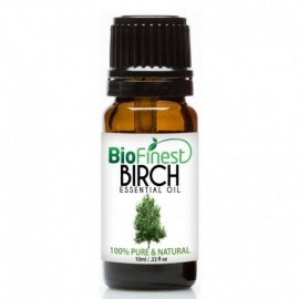 Birch Essential Oil - 100% Pure Undiluted - Therapeutic Grade - Best For Aromatherapy -  Fight Arthritis, Muscle & Joint Paint