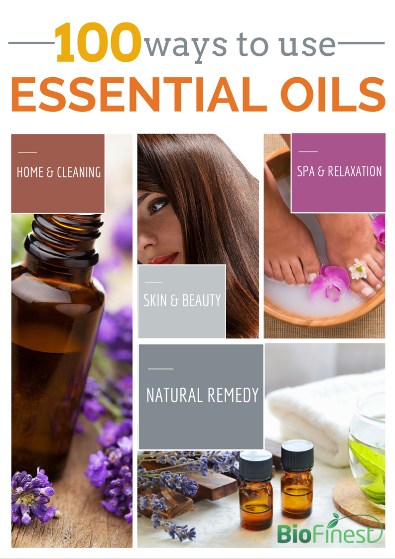 100 Ways To Use Essential Oils
