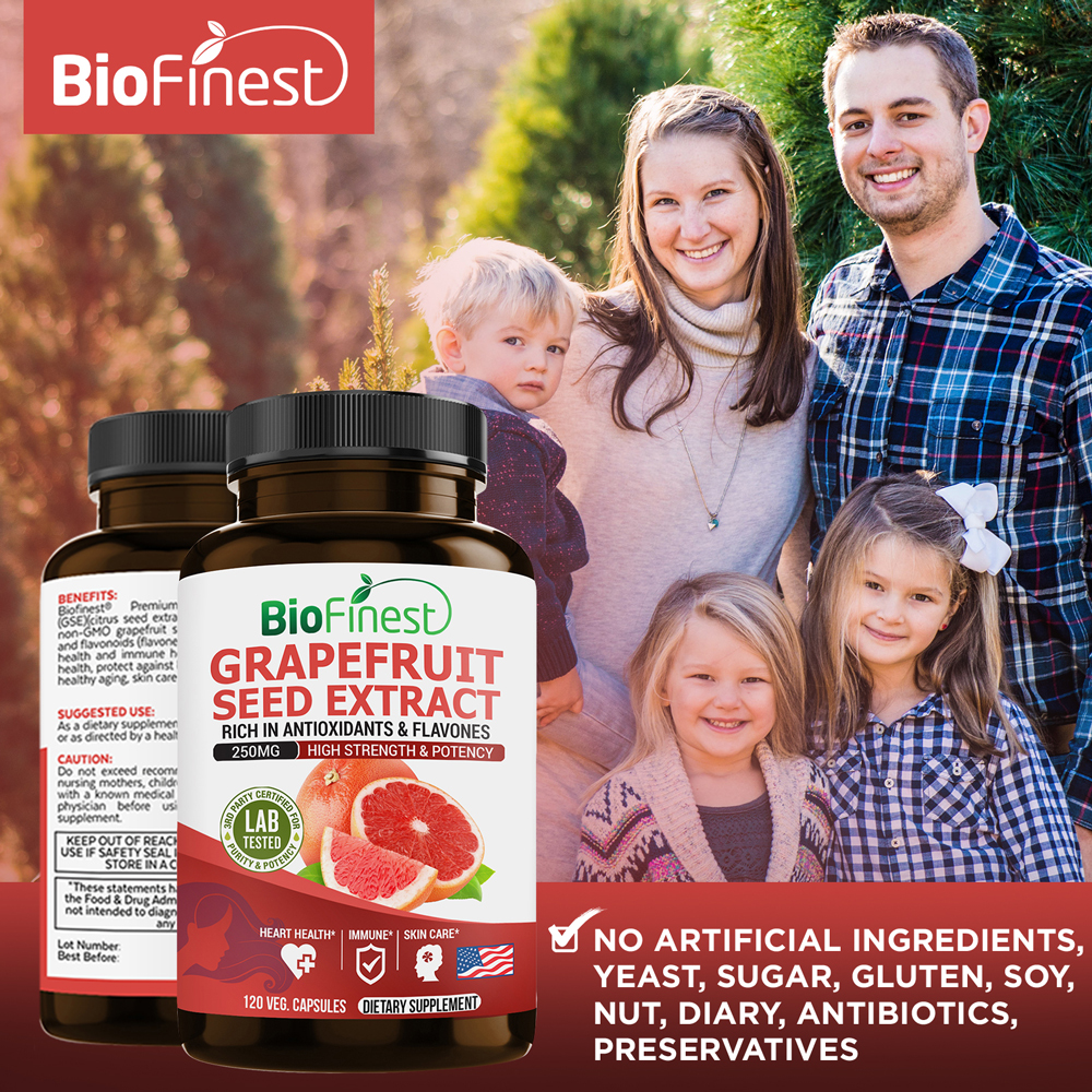 Grapefruit Seed Extract - Supplements For Immune System (120