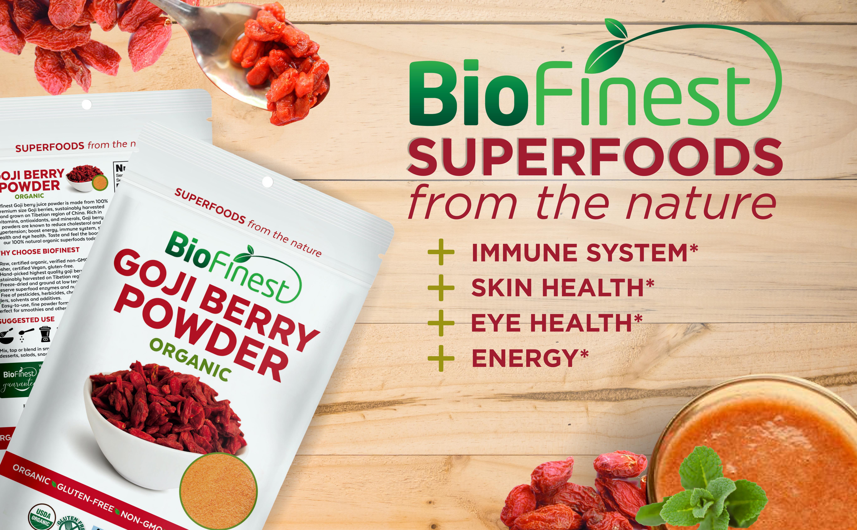 Goji Berry Juice Powder 100 Pure Freeze Dried Antioxidants