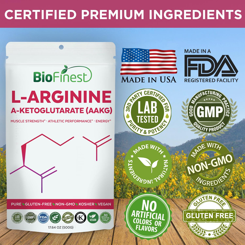 L-Arginine A-Ketoglutarate (AAKG) Powder
