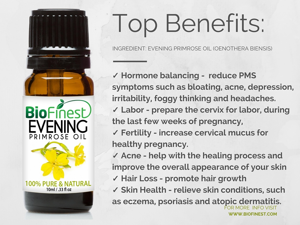Evening Primrose Oil Benefits For Natural Hair