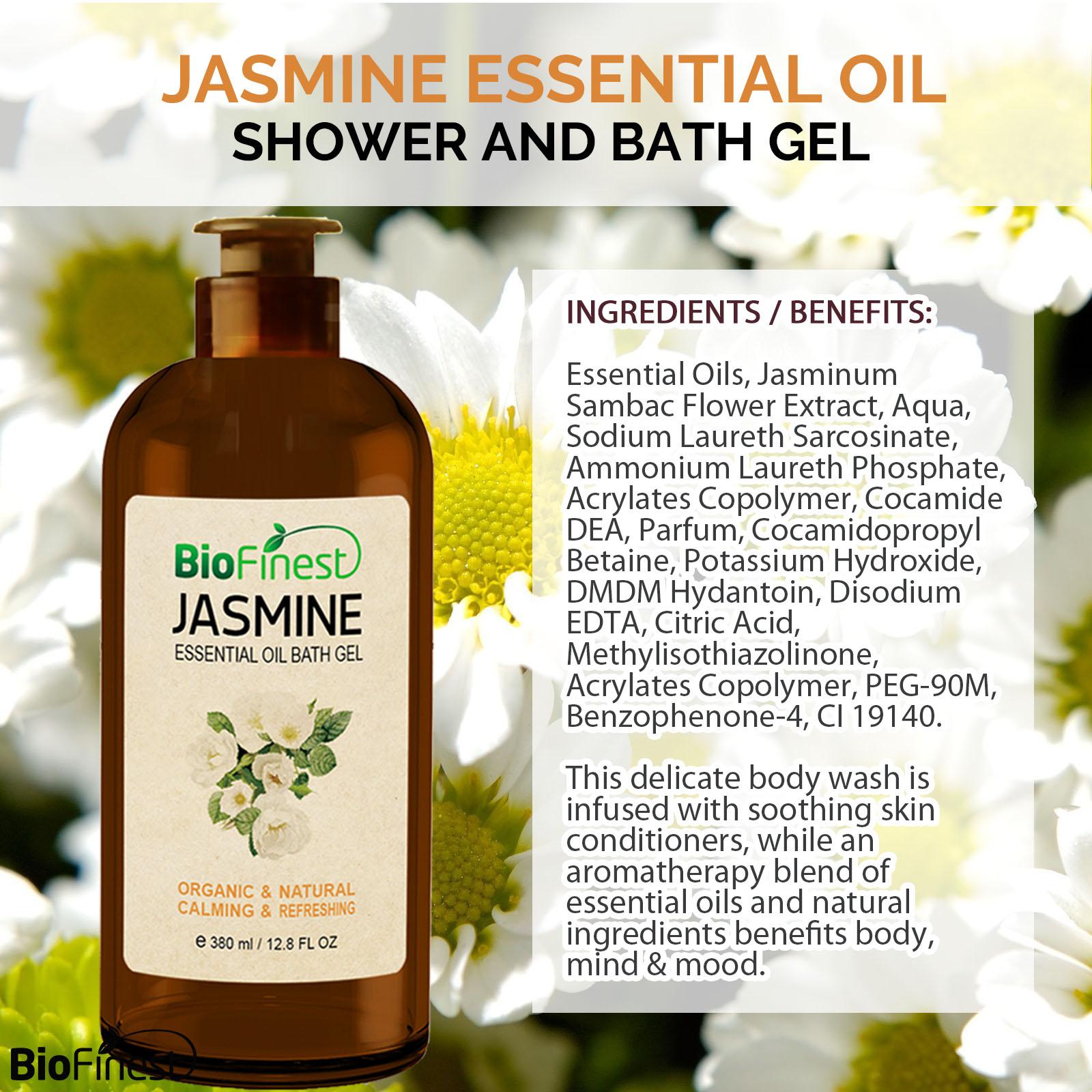 Jasmine essential oil shower gel premium grade best for deep jasmine shower gel 1 jasmine shower gel 2 izmirmasajfo