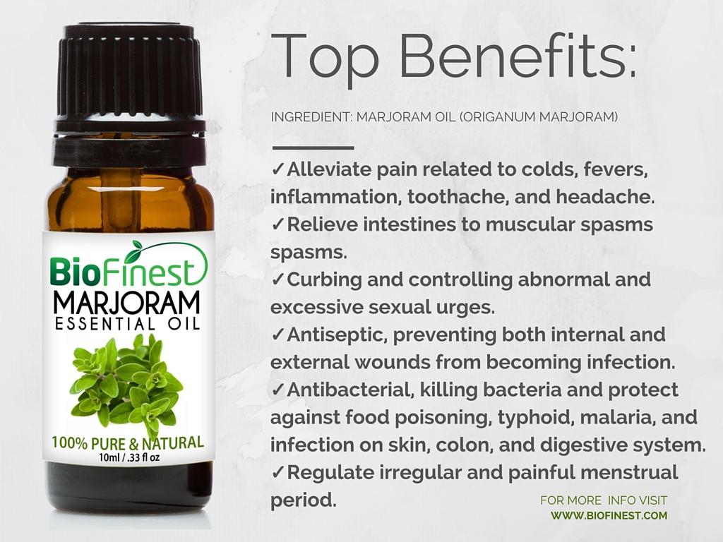 Biofinest 100% Pure Marjoram Essential Oil