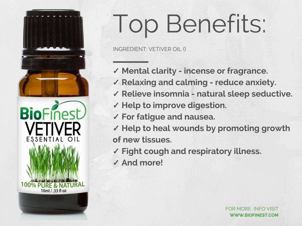 Vetiver Essential Oil 3